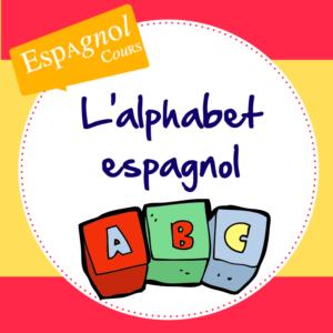 alphabet espagnol lecon lettres