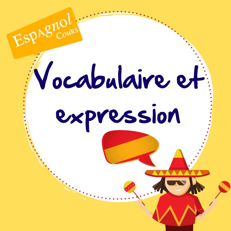 cours espagnol vocabulaire expression hola