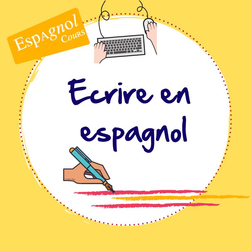 ecrire clavier en espagnol