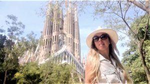 Sagrada Familia - façade de la passion -Prof Laura Moraes