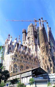 Sagrada Familia - façade de la gloire